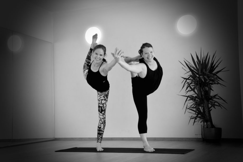 Yoga parthers Heather & Lezanne