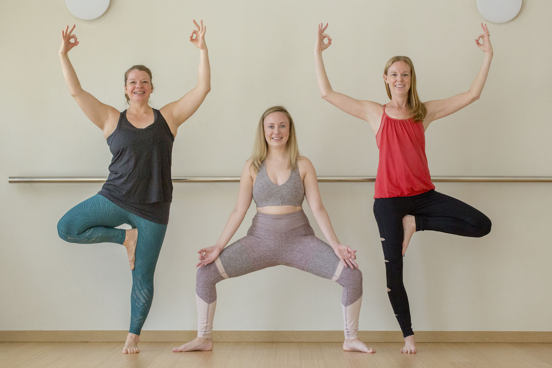 Lezanne, Kausandra & Heather